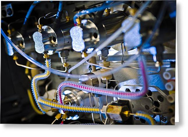 Liquid Chromatography Machine Greeting Card