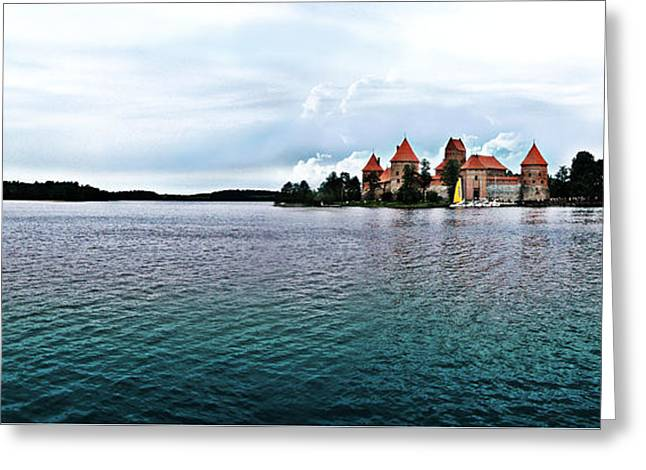 Lithuanian Castle Greeting Card