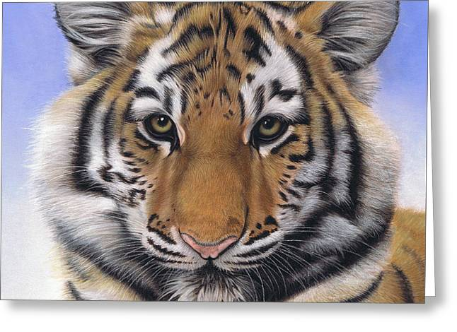 Little Big Cat Greeting Card