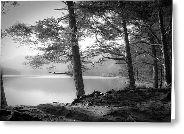Loch An Eilein Greeting Card by Dorit Fuhg