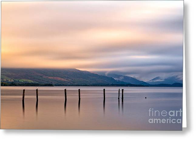Loch Lomond Greeting Card by John Farnan