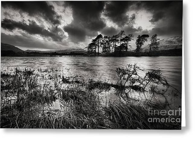 Loch Tulla Greeting Card by Rod McLean