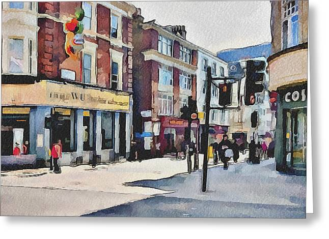 London China Town Greeting Card by Yury Malkov