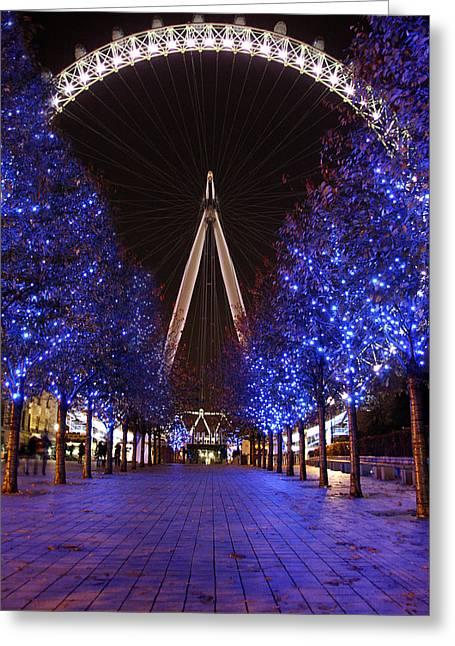 London Eye Greeting Card by Stephen Norris