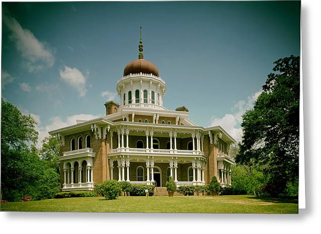 Longwood House - Natchez Greeting Card by Mountain Dreams