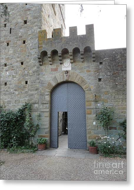 Loppiano's Castle Greeting Card