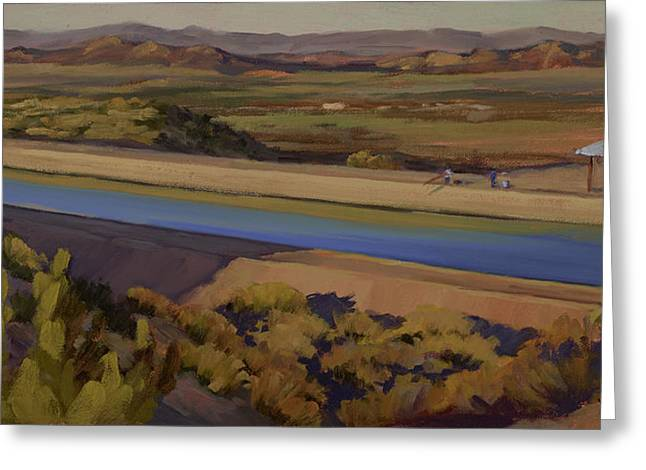 California Aqueduct Greeting Card