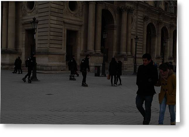 Louvre - Paris France - 01136 Greeting Card by DC Photographer