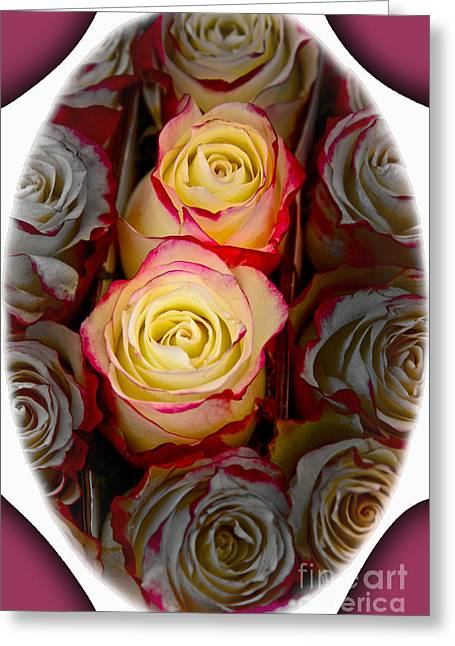 Love Is A Rose Greeting Card by Al Bourassa