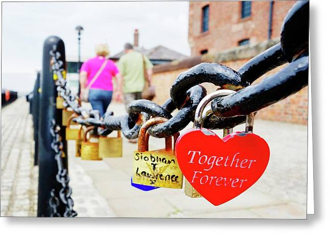 Love Locks Greeting Card by Cordelia Molloy