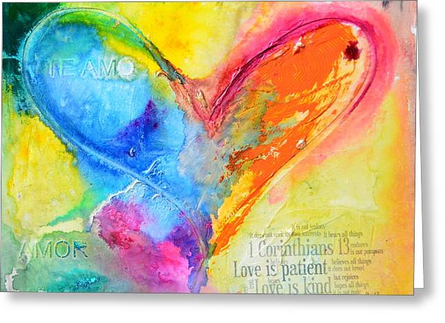 Love Never Fails Greeting Card