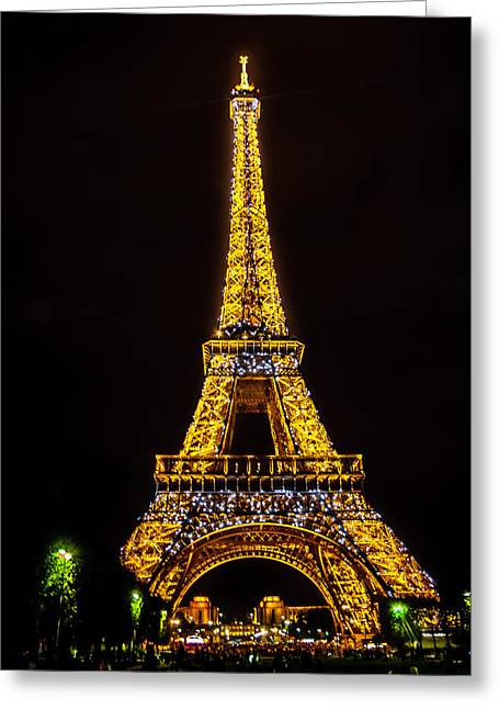 Love Paris Greeting Card by Alexandre Focante