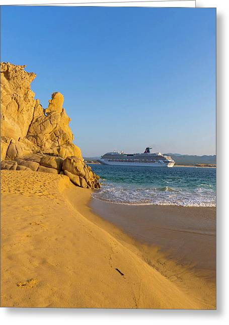 Lovers Beach, Cabo San Lucas, Baja Greeting Card by Douglas Peebles