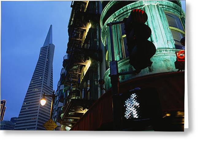Low Angle View Of A Building, Sentinel Greeting Card by Panoramic Images