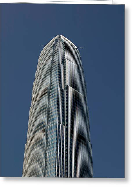 Low Angle View Of A Skyscraper, Two Greeting Card by Panoramic Images