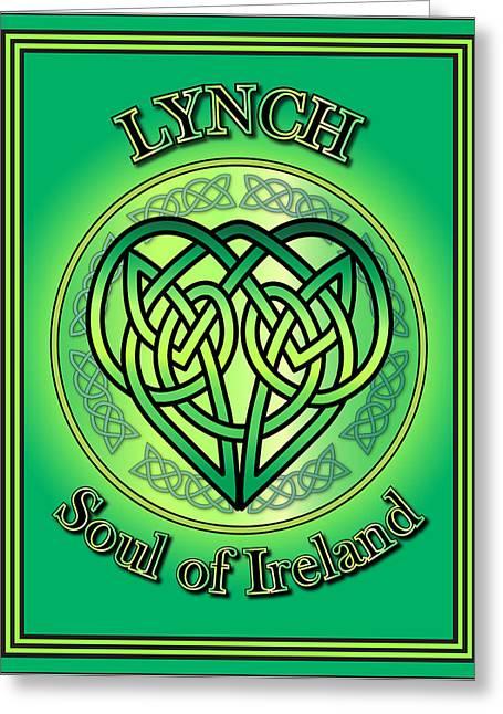 Lynch Soul Of Ireland Greeting Card