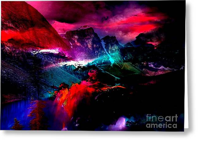 Magical Moments Greeting Card by Marvin Blaine