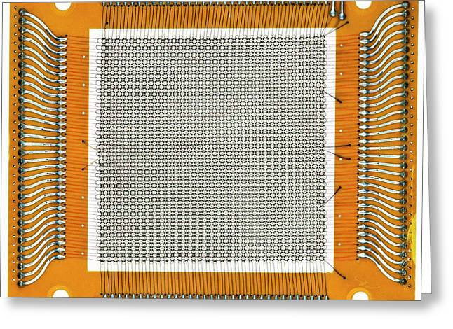 Magnetic-core Memory Greeting Card by Pasieka