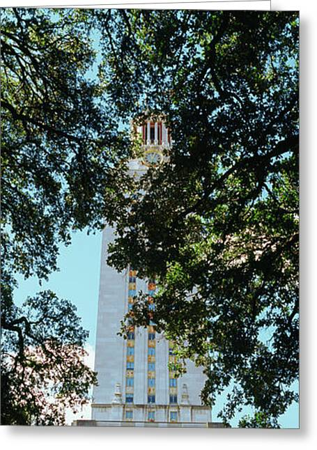 Main Building Of University Of Texas Greeting Card