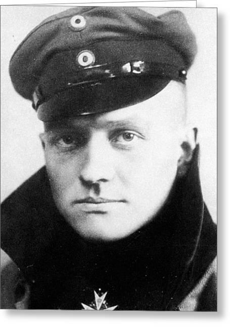 Manfred Von Richthofen (1892-1918) Greeting Card