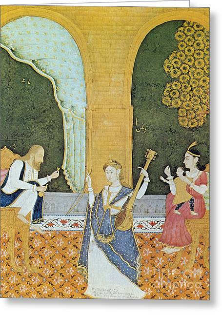 Mani, Of Manicheism, Iranian Prophet Greeting Card by Photo Researchers