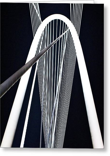 Greeting Card featuring the photograph Margaret Hunt Hill Bridge by John Babis