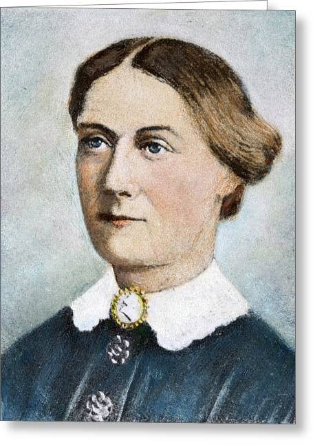 Margaret Taylor (1788-1852) Greeting Card by Granger