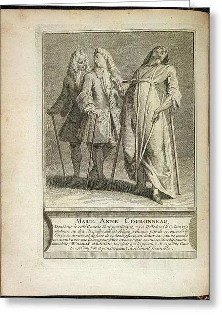 Marie Anne Couronneau Greeting Card