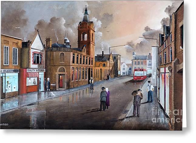 Market Street - Stourbridge Greeting Card