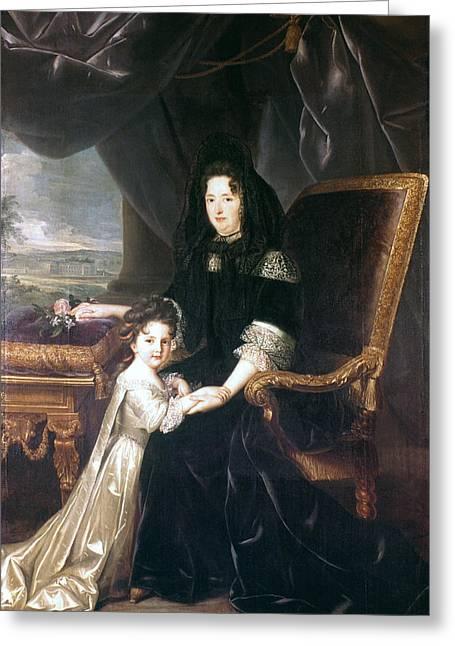 Marquise De Maintenon (1635-1719) Greeting Card