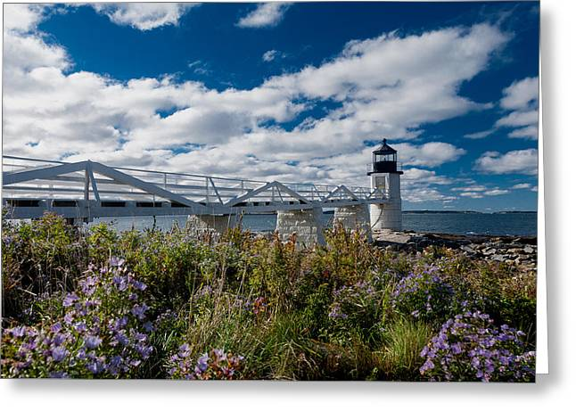 Marshall Point Lighthouse Greeting Card