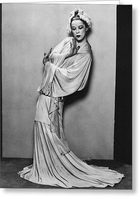 Martha Graham (1894-1991) Greeting Card