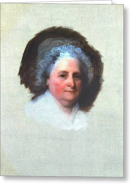 Martha Washington (1731-1802) Greeting Card by Granger
