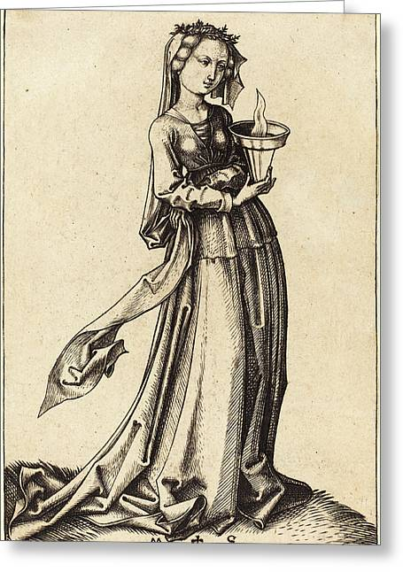 Martin Schongauer German, C. 1450 - 1491 Greeting Card by Quint Lox