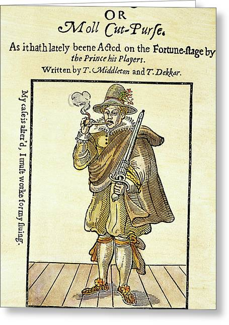 Mary Frith (1585?-1660?) Greeting Card