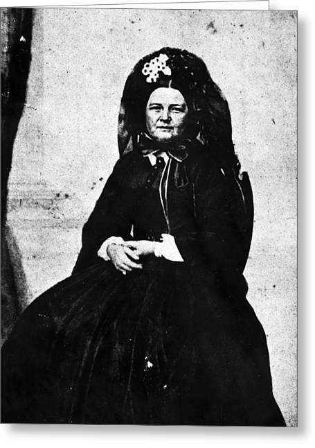 Mary Todd Lincoln (1818-1882) Greeting Card