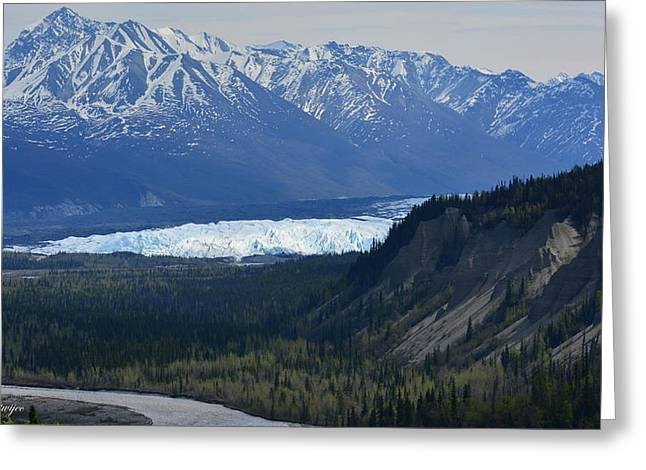 Matanuska Glacier Greeting Card