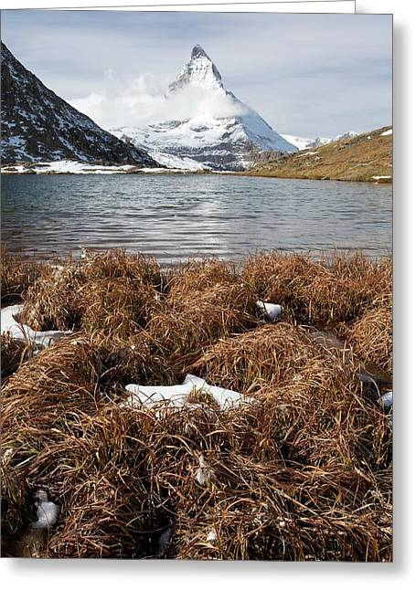Matterhorn From Switzerland Greeting Card by Bob Gibbons