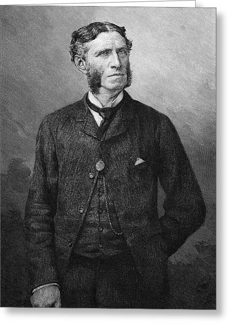 Matthew Arnold  Writer And Critic Greeting Card by Mary Evans Picture Library