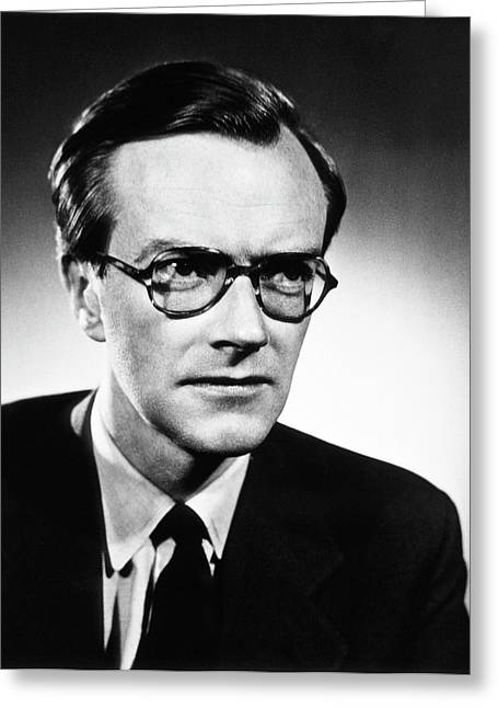 Maurice Wilkins Greeting Card by National Library Of Medicine