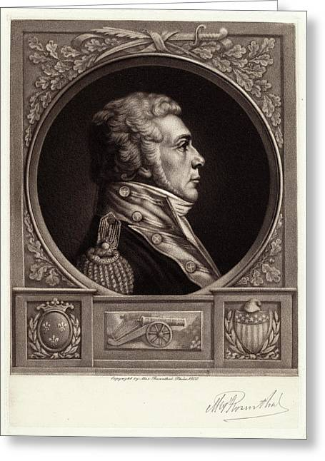 Max Rosenthal, Louis, Chevalier De Toussard Greeting Card by Quint Lox