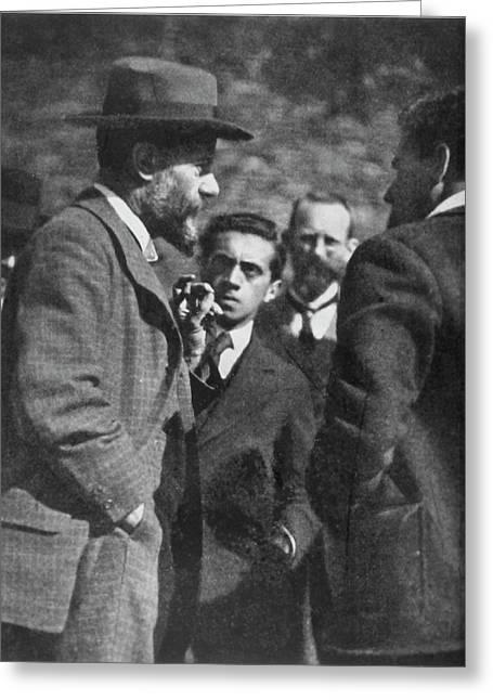 Max Weber (1864-1920) Greeting Card