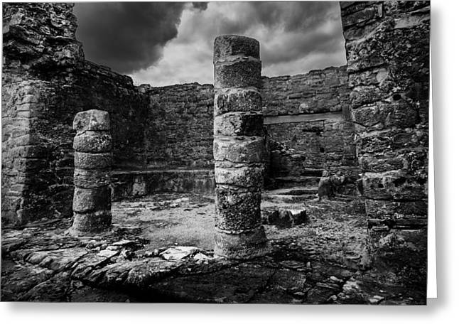Mayan Ruin Greeting Card