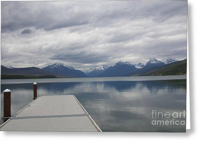 Mcdonald Lake - Apgar  Greeting Card