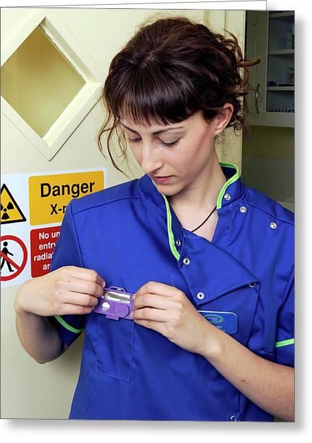 Medical Radiation Dosimetry Greeting Card