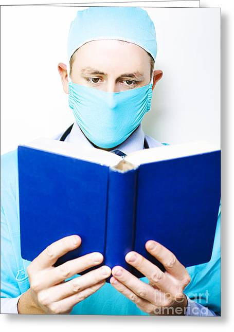 Medical Research And Study Greeting Card by Jorgo Photography - Wall Art Gallery