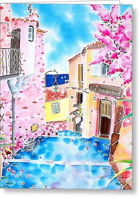Mediterranean Wind Greeting Card