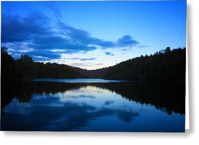 Meech Lake Greeting Card by Philip G