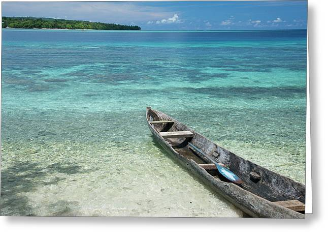 Melanesia, Solomon Islands, Santa Cruz Greeting Card by Cindy Miller Hopkins