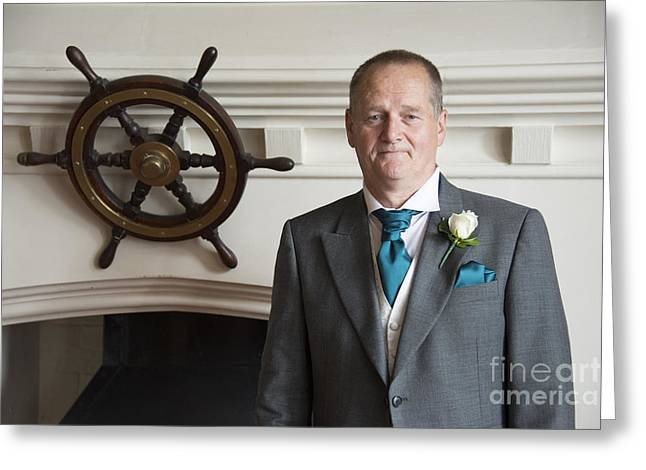 Mel's Wedding Greeting Card by Donald Davis